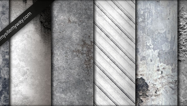 Whitewashed Grunge Textures Pattern for Web Design