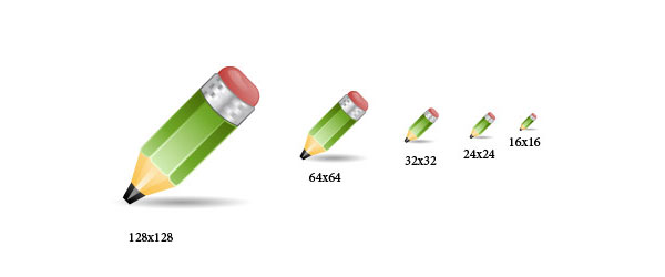 Icon Design Tutorial: Drawing A Pencil Icon
