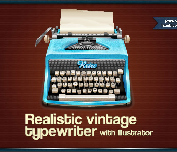 Realistic vintage vector tutorial