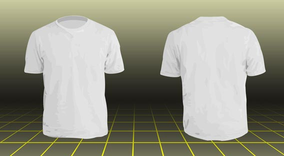Tshirt Model By Nx57 82 Free T Shirt Template Options For Photo And Ilrator