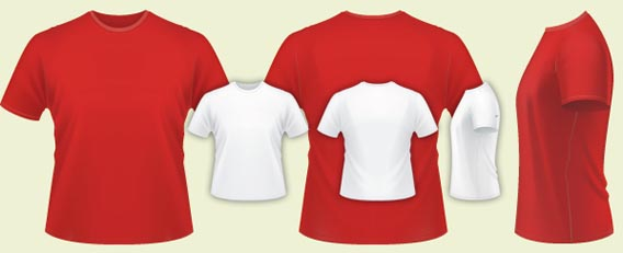 designwartshirt 82 free t shirt template options for photoshop and illustrator - T Shirt Template Psd Free Download