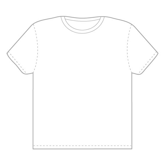 Download Vector Tshirt Template from Threadless