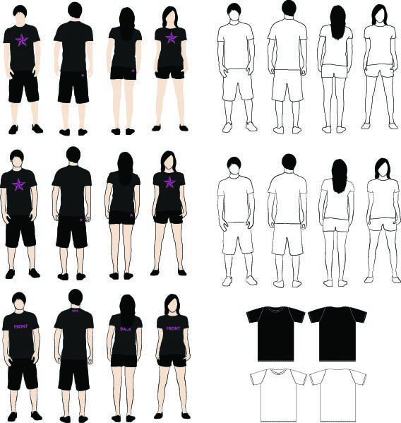 xyberneticos 82 FREE T-Shirt Template Options For Photoshop And Illustrator