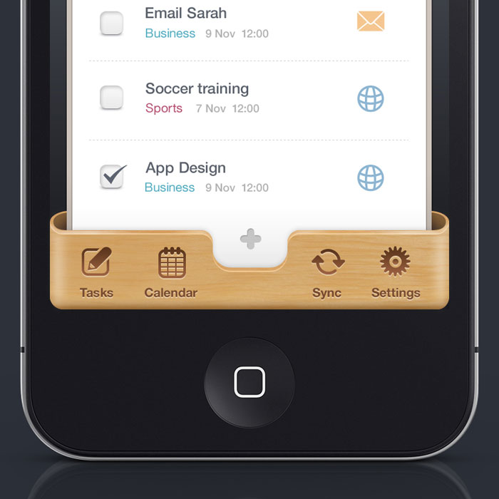 how to add calendar to iphone user interface design inspiration 40 ui design examples 4705