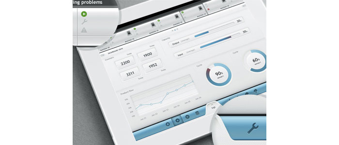 White UI User Interface Design Inspiration