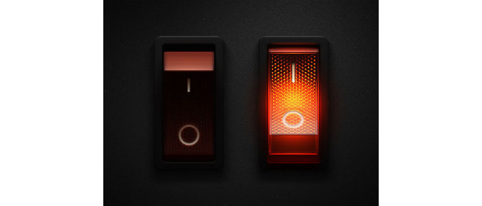 Rocker Light Switch >> User Interface Design Inspiration - 45 Lovely Switches