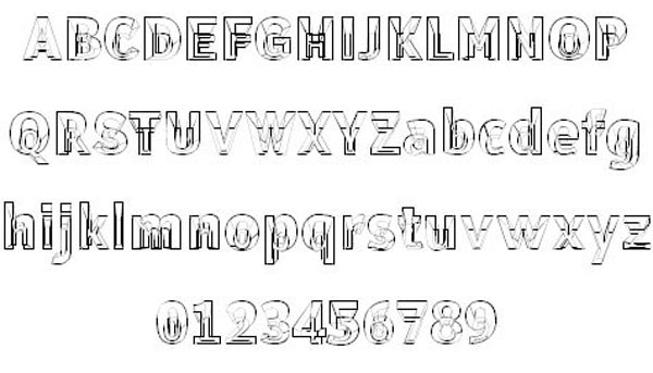 Erectlorite Font free for download