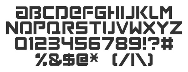 Loaded Font free for download