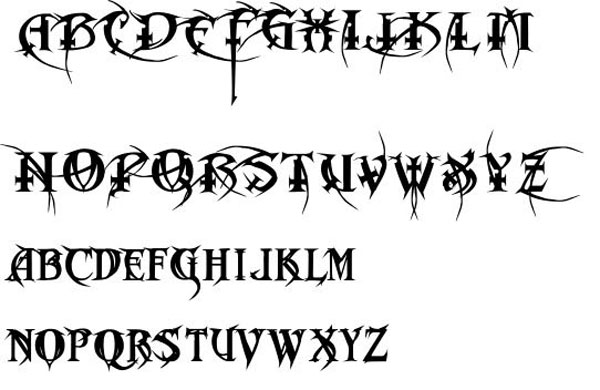 Metal Macabre Font free for download