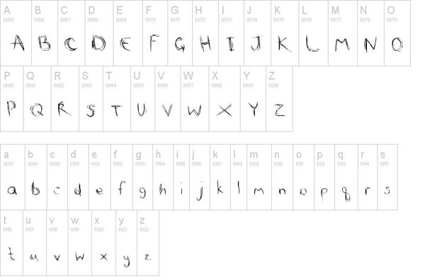 Scribble Scratch Font free for download