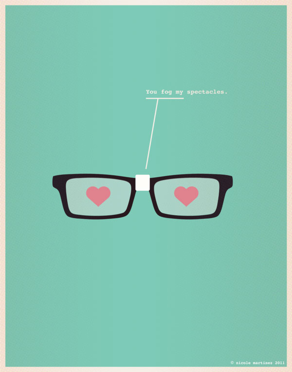 Nerdy Dirty - Illustrations for Nerds in Love 3 Design Inspiration