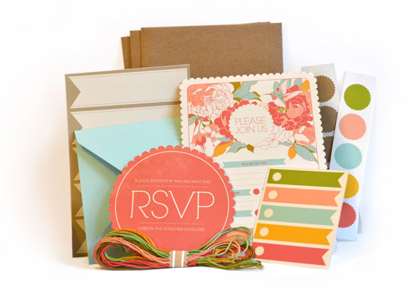 Garden Party Invitation Kit Design Inspiration