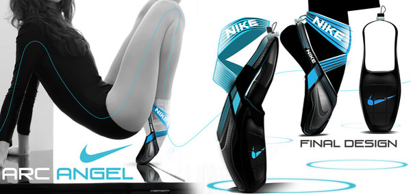 NIKE ARC ANGELS (Pointe shoe training) Design Inspiration