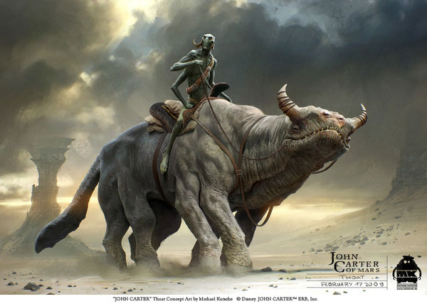 John Carter - Character Design and Concept Art 2 Design Inspiration