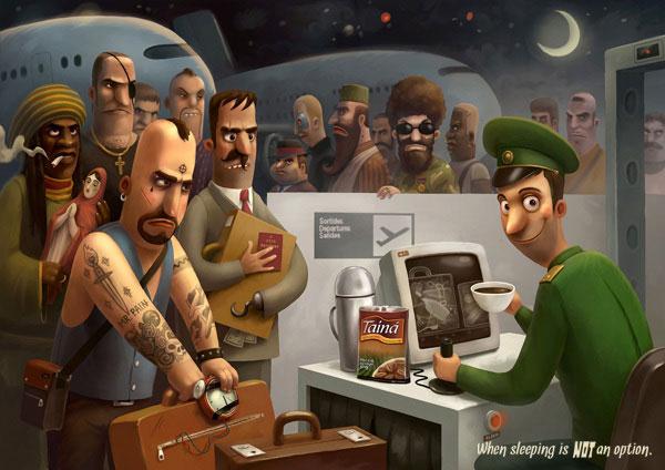 Illustration Mix 2012 2 Design Inspiration