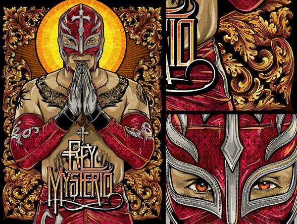 Pale Horse x WWE Magazine Design Inspiration
