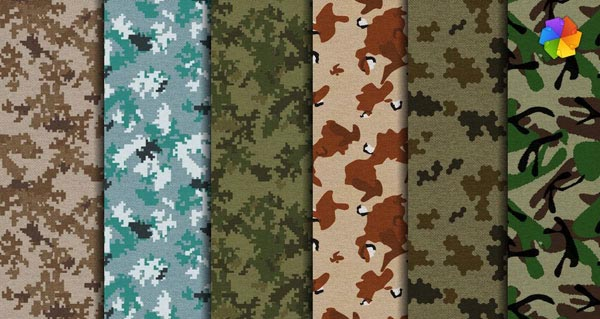 Camouflage high resolution fabric Free to Download