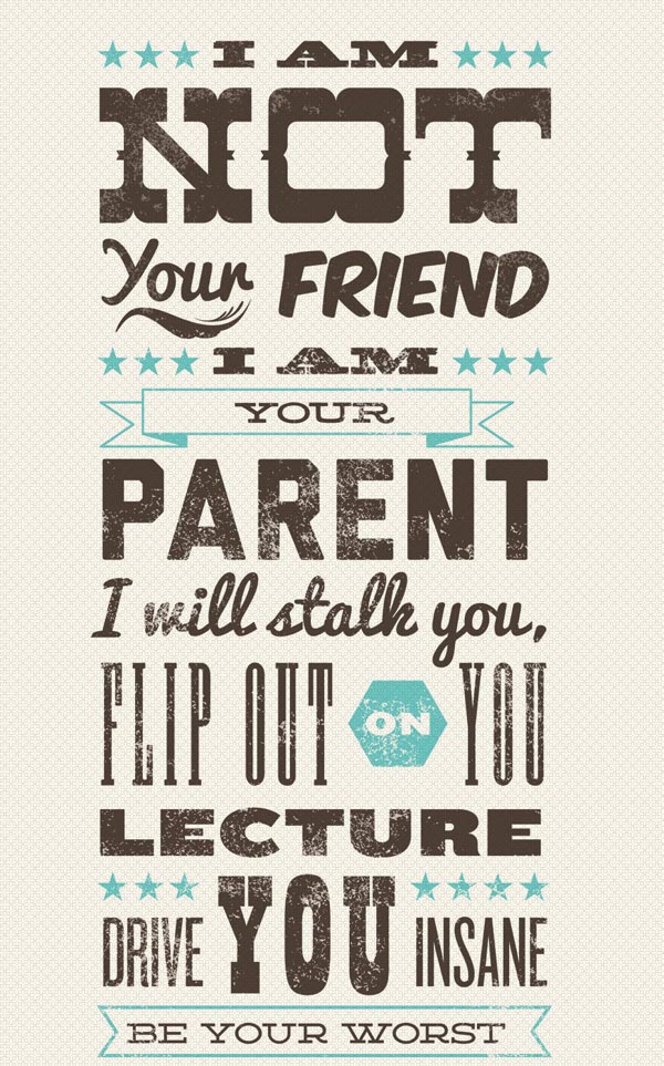 A Parent's Promise Graphic Design Inspiration