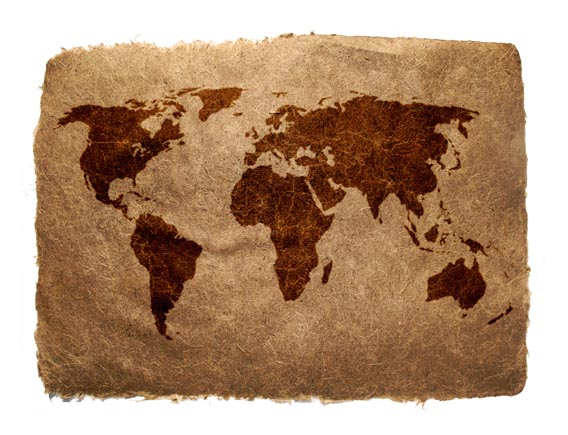 World Map High Quality Texture