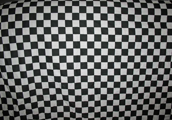 Fabric Texture B + W Checkered High Quality Texture