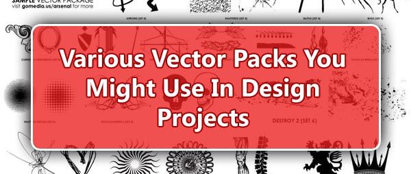 Various Vector Packs You Might Use In Design Projects