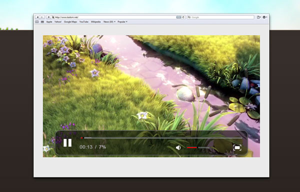 dplayer.drivecast.eu Video Player Design Inspiration