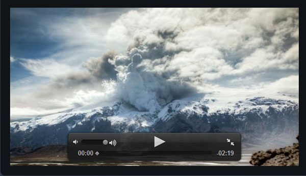 flarevideo.com Video Player Design Inspiration