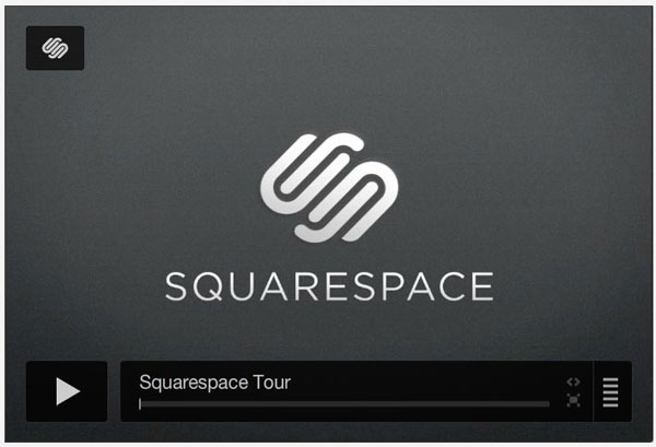 squarespace.com Video Player Design Inspiration