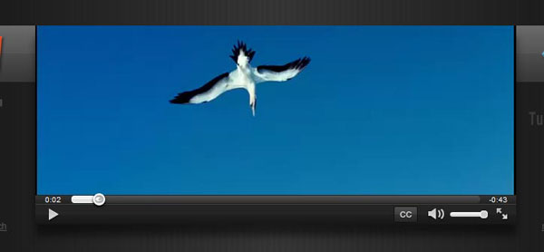 videojs.com Video Player Design Inspiration