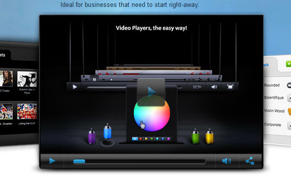 vpfactory.com Video Player Design Inspiration