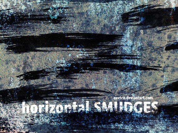 Horizontal Smudges brushes