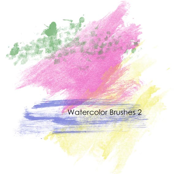 Watercolor Brushes 2