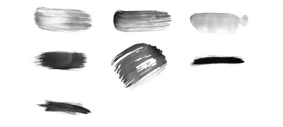 Free High-Res Watercolour Photoshop Brushes Set 2