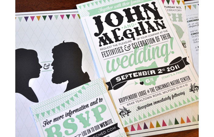 Unique Wedding Invitations Designed With Style - 32 Examples