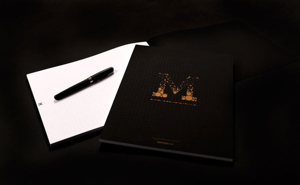 Murmure Identity Print Design Inspiration