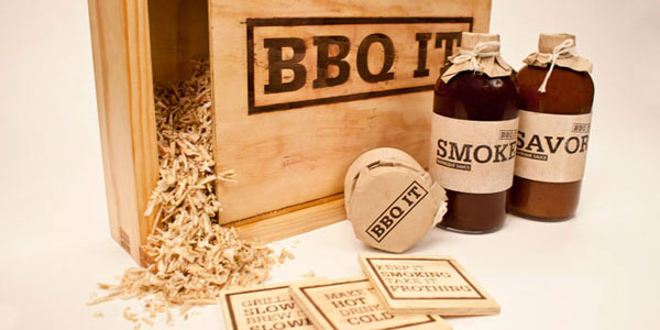 BBQ IT Wood Package Design Inspiration