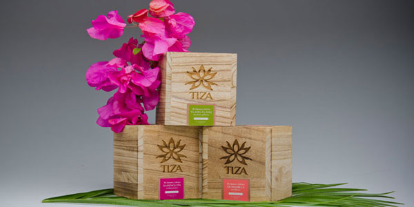 TIZA Wood Package Design Inspiration
