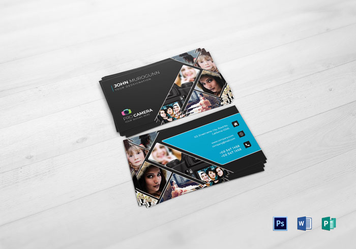 Creative photography business cards 31 examples modern photography business card template creative photography business cards 31 examples reheart Images