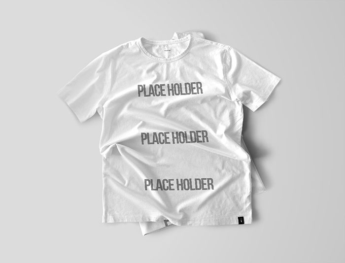 T-Shirt-Mockup-Bundle 82 FREE T-Shirt Template Options For Photoshop And Illustrator