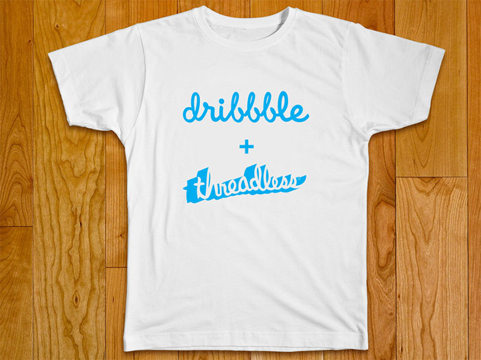 threadless_dribbble 82 FREE T-Shirt Template Options For Photoshop And Illustrator