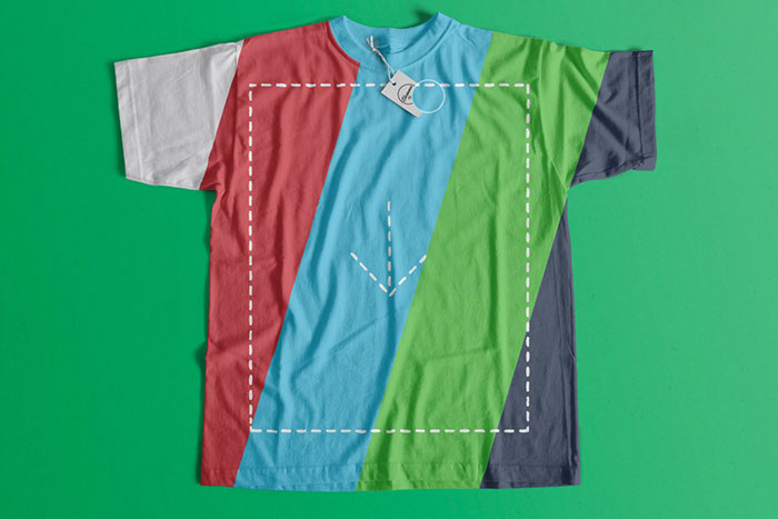 Free TShirt Template Options For Photoshop And Illustrator - T shirt template illustrator