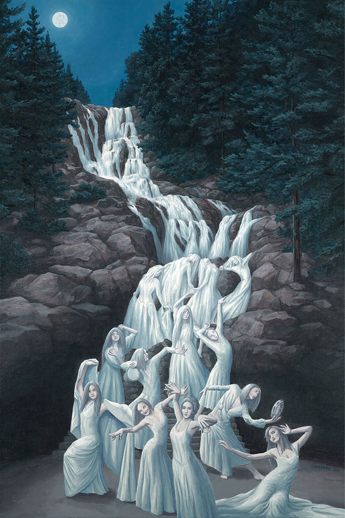 Magic Realism Paintings By Rob Gonsalves