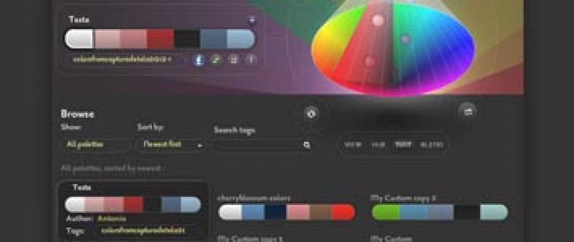 Interesting And Useful Color Scheme Generators - 25 Tools