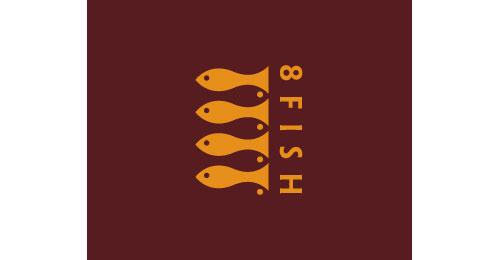 8 Fish logo