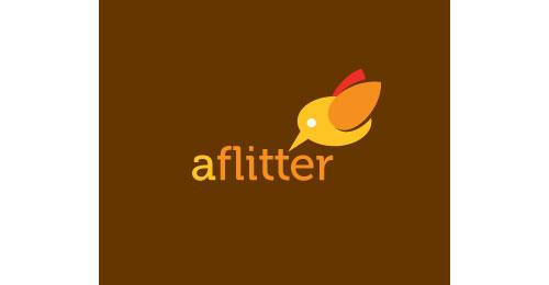 aflitter logo
