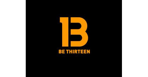 Be thirteen logo