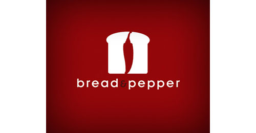 Bread and pepper logo