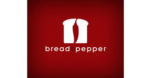 Bread and pepper logo