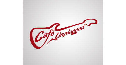 Cafe Unplugged logo from Show me some well designed logos! #29