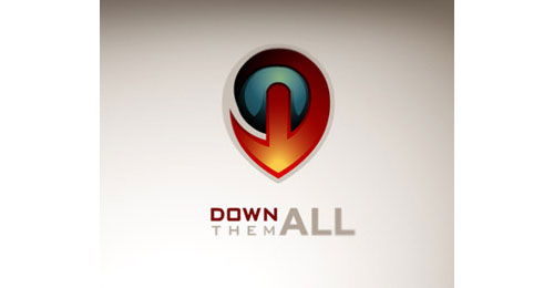 Down them all logo from Show me some well designed logos! #28